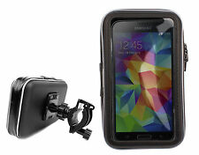 Bicycle Smartphone Mount Holder & Case for 2014 Samsung Galaxy S5 (SM-G900F)