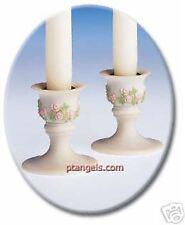 Seraphim Classics Candle Holders - S/2 NEW MIB