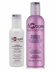 ApHogee Two Step Protein Treatment 118ml with Balancing Moisturizer 237ml