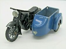 BUDGIE TOYS ENGLAND RAC MOTORBIKE / SIDECAR