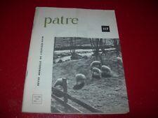 REVUE  MENSUELLE DE L'ELEVAGE OVIN    PATRE N°  117  OCTOBRE 1964