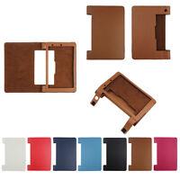 """Magnetic Flip Shell Leather Cover Case Holder 8"""" For Lenovo Yoga 8 B6000 Tablet"""