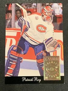1993-94 Donruss Special Print PATRICK ROY #L - 1 of 20,000