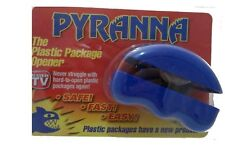 Pyranna Plastic Clamb Shell Package Opener Slices through Hard Plastic Safely