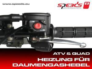 Speeds Griffheizung Heizgriffe mit Daumengas 5-Stufen*CF-Moto *Quad / ATV 22mm