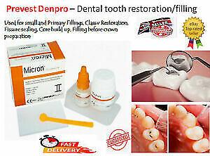 Strong Teeth Tooth Repair Permanent dental Cement cavity Filling Restorative kit