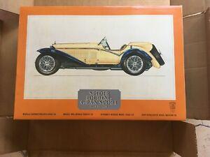 POCHER 1932 Alfa Romeo Spider Touring Grand Sport 1:8 Scale Model Kit