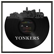 Yonkers New York Vinyl Wall Art Cityscape Exclusive Room Decoration Framed