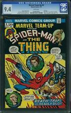 Marvel Team-Up #6 CGC 9.4 1972 Thiing! Puppet Master! Spider-Man! F2 201 cm SET