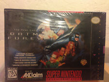 Batman Forever SNES1995 New/Sealed box!!