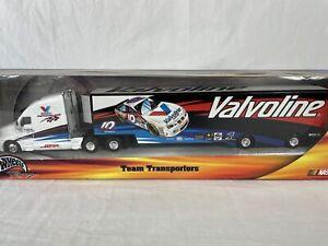 Valvoline 2000 Team Transporters Hot Wheels Semi Truck Rig Benson #10 Sealed