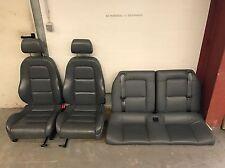 Audi TT 8N Coupé Lederausstattung Grau Feder Leder Sitze Rückbank