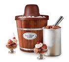 Nostalgia 4-Quart Wood Bucket Ice Cream Maker photo