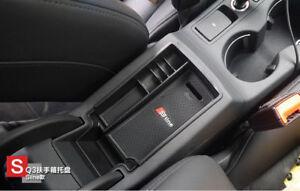 For Audi Q3 2012-2017 Car Center  Storage  Console Armrest Box Organizer Tray
