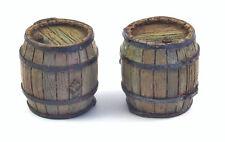 1/35 Scale model kit Wooden Barrels (2 pcs.) from Matho Models
