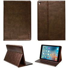 "Premium Leder Cover Apple iPad Pro 10,5"" Tablet Schutzhülle Case Tasche braun"