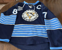 Sidney Crosby Winter Classic Jersey Pittsburgh Penguins SZ 52