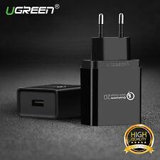 Ugreen Qualcomm Certifié Quick Charge USB 2.0 Adaptateur Secteur Chargeur Mural
