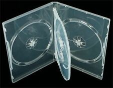 100 X 4 Manera Claro DVD/CD/Blu Ray Case - 14mm-Dragon Trading ® la marca de la columna vertebral