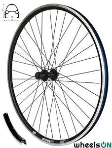 QR 700c wheelsON Rear Wheel for 8/9/10 Speed Cassette 36H Black Rim