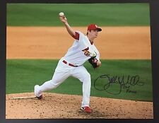 """Shelby Miller Signed Auto Autographed 16x20 Photo """"09 1st Rd"""" COA HOLO Cardinals"""