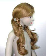 Perücke Wig Perücken Wigs Haare Schaufensterpuppen Figur braun Haare Mädchen