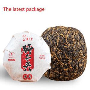 500g China Dianhong Tea Red Black Tea Gold Lion Head Tea Golden Melon Tuo Cha 茶