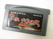 Game Boy Advance KAMAITACHI NO YORU Nintendo Video Game Cartridge Only gbac