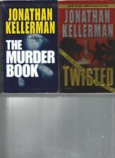 JONATHAN KELLERMAN  - THE MURDER BOOK - A LOT OF 2 BOOKS