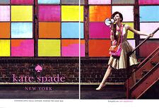 2011 Kate Spade Norman Jean Roy Bryce Dallas Howard megaphone MAGAZINE AD