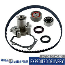 GATES TIMING BELT / MADE IN KOREA WATER PUMP KIT for 97-07 HYUNDAI KIA 2.0L DOHC