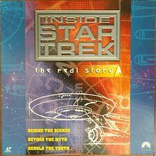 STAR TREK Laserdisc Inside Star Trek 1998 JAPAN LD OBI