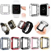 Soft 38mm 42mm Watch Case Plating TPU Cover for IWatch Apple Watch Series 3 2