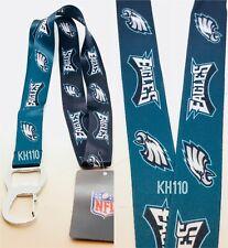 Philadelphia Eagles NFL Keychain & Bottle Opener Lanyard