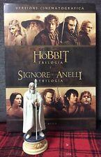Il Signore degli Anelli e Lo Hobbit Trilogia 6 DVD + Figure Gandalf Nuovo