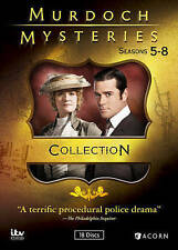 Murdoch Mysteries Collection: Seasons 5-8 DVD!