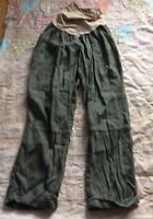 A Pea In The Pod Maternity Olive Green Pants Skinny Size Large Sooo Cute