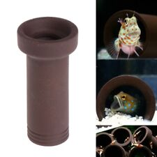 Aquarium Tank Breeding Hiding Cave Tube Shelter For Fish Shrimp Spawn Live Plant