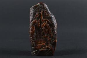 #1736: XF Japanese Wooden Cloud Dragon sculpture ORNAMENTS object art work
