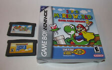Super Mario World Super Mario Advance 1 2 & 4 Nintendo Game Boy Advance Complete