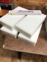 495 x 495 x 10 mm grau Zuschnitt RAL 7011 alt-intech/® Platte aus Hart PVC