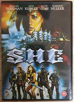 She SHE 1985 DVD Neuwertig Like New Uncut English Sandahl Bergman Quin Kessler