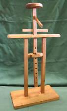 Wooden Yoroi Display Stand Samurai Kabuto Jinbaori Armor Height Adjustable