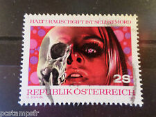 AUTRICHE 1973, timbre 1239, PREVENTION CONTRE DROGUE, oblitéré, VF used stamp
