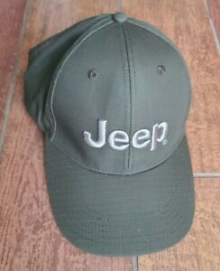 Jeep Cotton Poly Hat Baseball Cap Golf Hat Ball Casual Embroidered Army Green