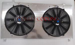 FOR Radiator of Nissan GU PATROL Y61 petrol 4.5L 1997-2001 Aluminum Shroud + Fan