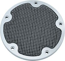 Motorcycle Accent Accessory: Mesh Derby Cover for 1999-2017 Harley-Davidson Twin
