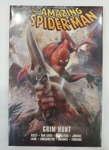 Amazing Spider-Man - GRIM HUNT- NEW SEALED - Hardcover - Graphic Novel - Marvel