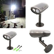3W LED Light-control Solar PIR Motion Sensor Outdoor Spot Floodlight Security CO