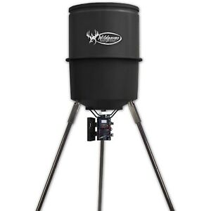 Wildgame Innovations Sports & Outdoors Quick Set Game Feeder, 30 gal